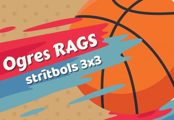 Sestdien Ogrē startēs ielu basketbola turnīrs