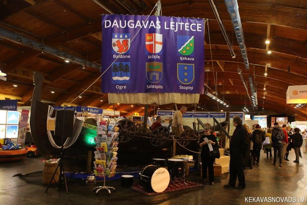 Ogre un Daugavas lejtece ar vikingu tēmu apžilbina tūristus Balttour 2017