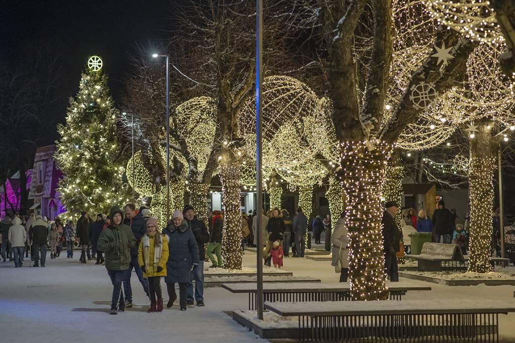 Aicinām baudīt Ziemassvētku laika burvību Ogrē