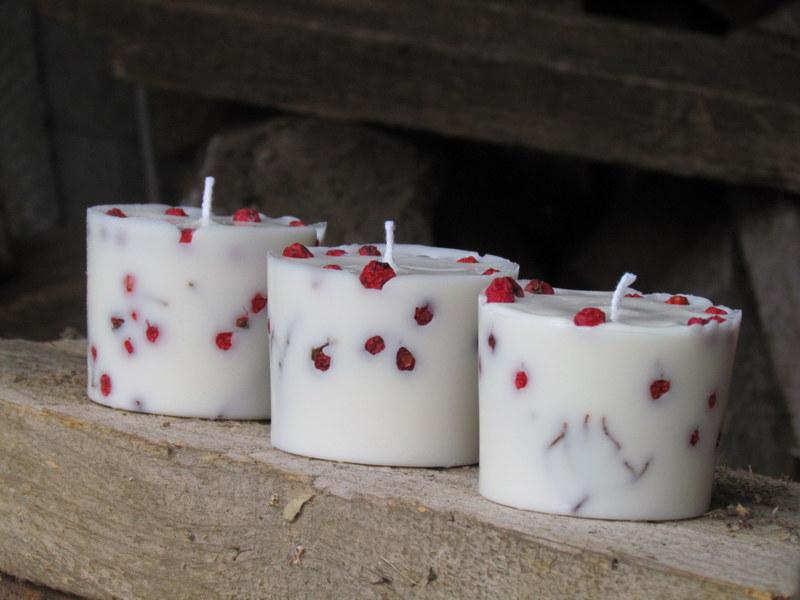 Krapes ūdensdzirnavas - sojas sveču meistardarbnīca