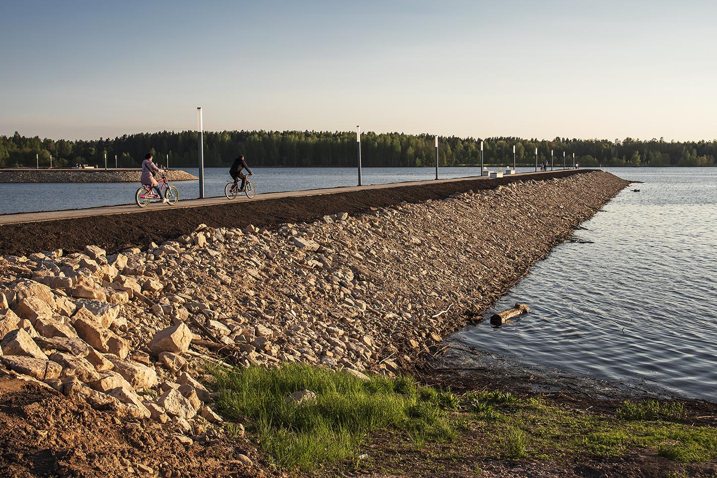 Atklāts aizsargmols pie Ogres upes ietekas Daugavā