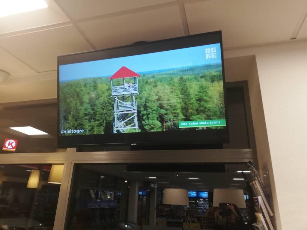 Ogres tūrisma video - degvielas uzpildes stacijās