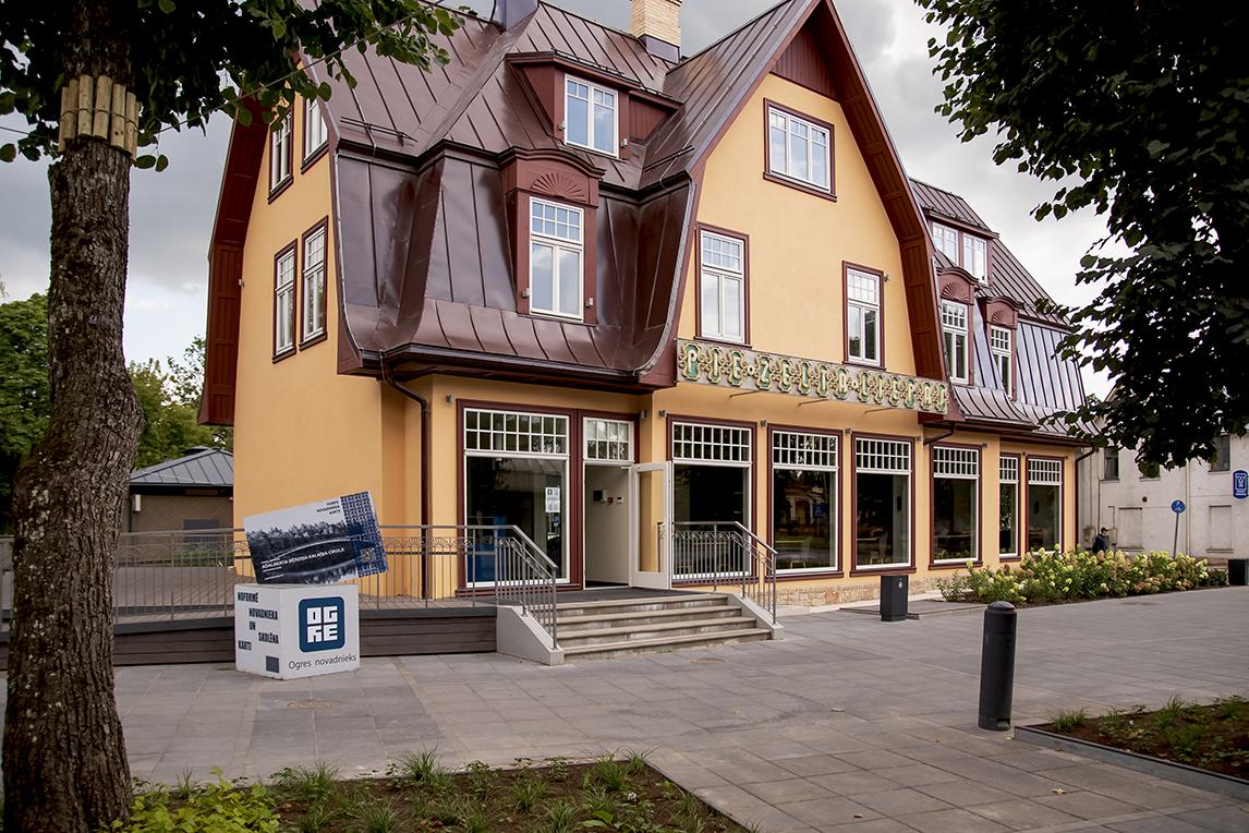 Ogres Tūrisma informācijas centrs. Foto: Voldemārs Stāvusis