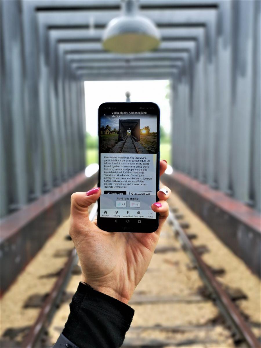 Ogres novada audiogids - mobilajā aplikācijā