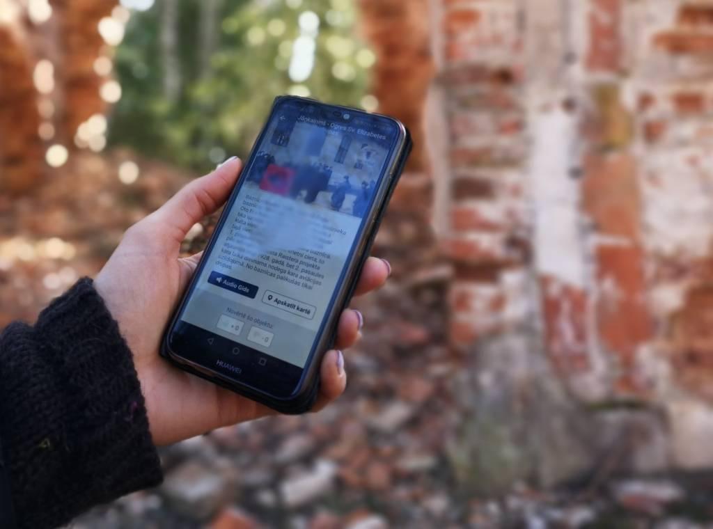 Ogres novadā pieejams bezmaksas audiogids