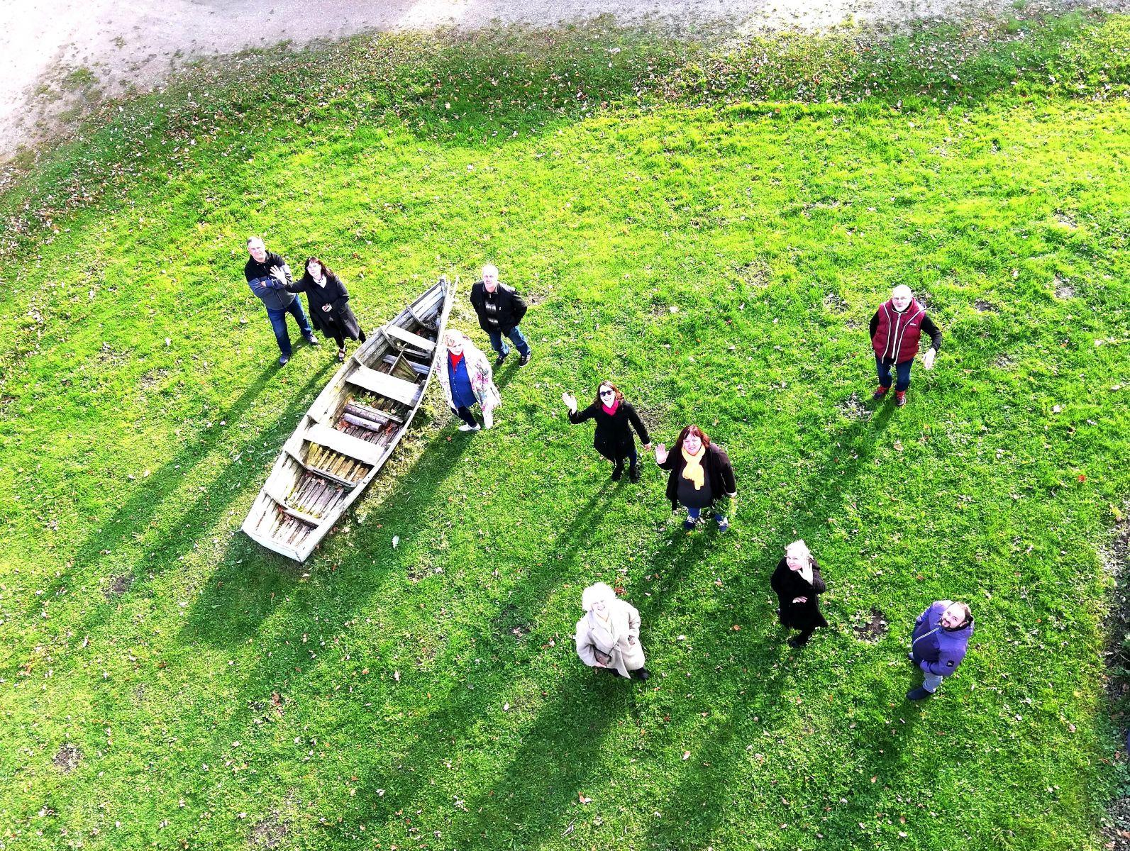 Uzņēmēji Šūpoļu parkā