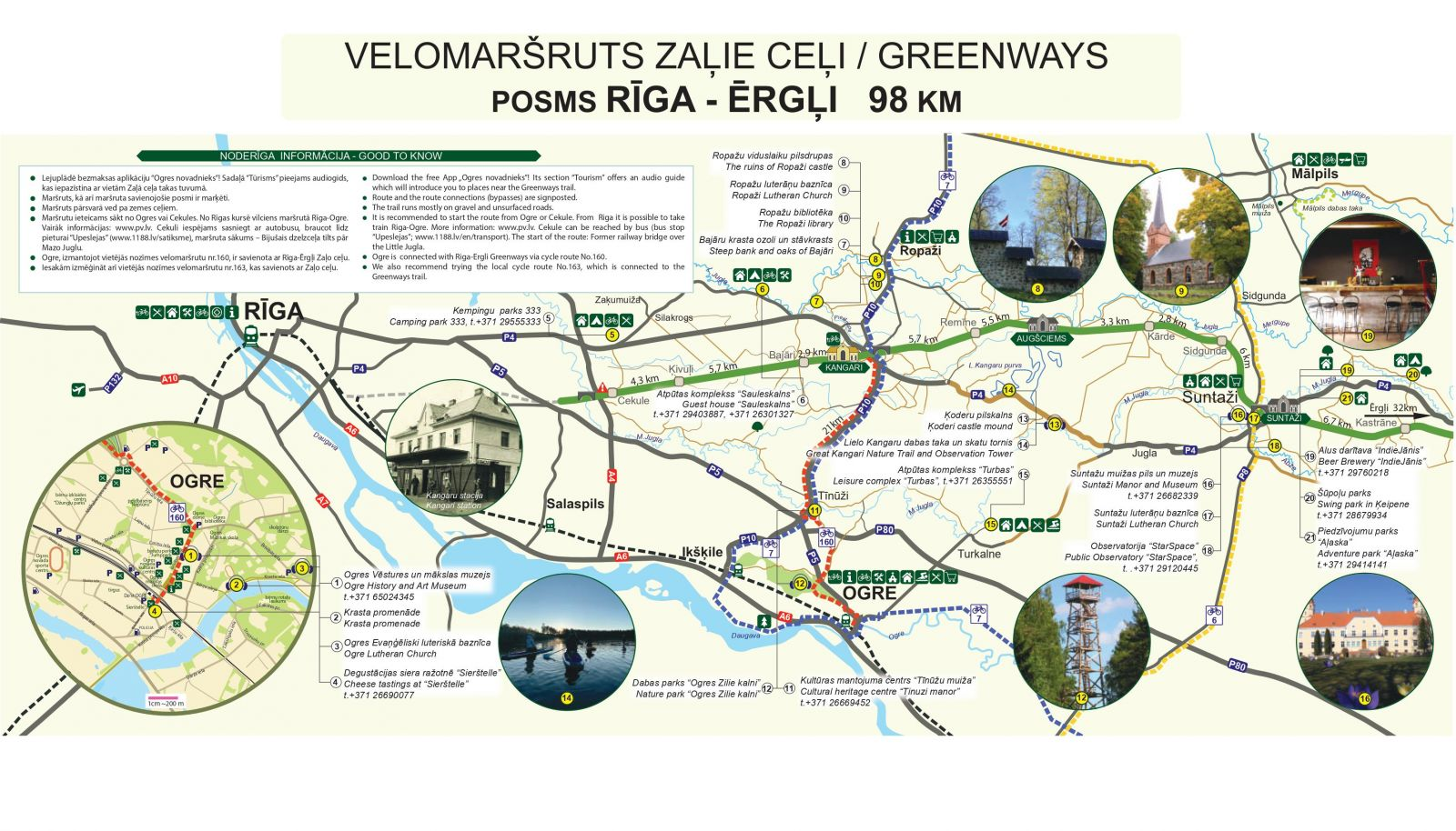 Zaļais ceļš Rīga-Ērgļi